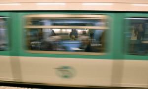 Le métro parisien. SIPA. 00508550_000015