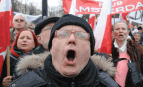 Un manifestant en Pologne, avril 2013. SIPA. AP21385636_000001