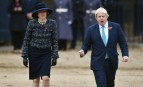Theresa May et Boris Johnson à Londres, novembre 2016. SIPA. REX40463627_000005