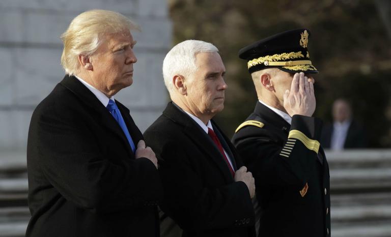 Trump: une croisade sans ingérence