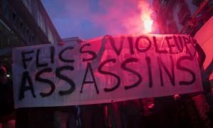 """Manifestation contre """"les violences policières"""" à Paris, février 2017. SIPA. 00793822_000001"""