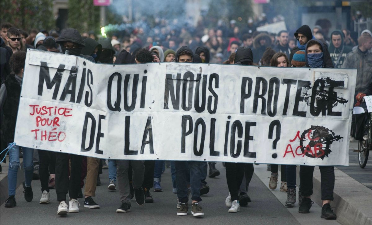 aulnay banlieues theo diallo police