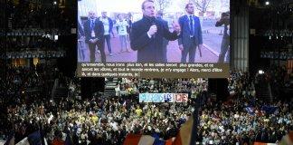 Emmanuel Macron François Hollande Campagne présidentielle Marine Le Pen
