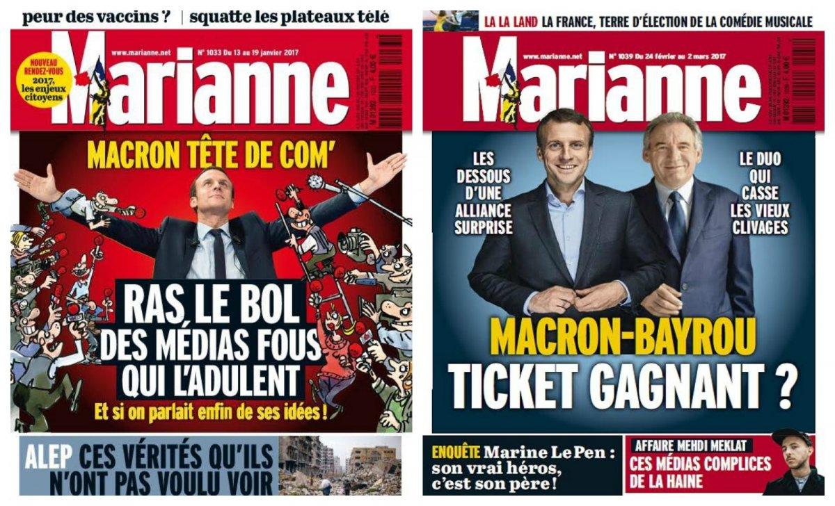 macron bayrou marianne