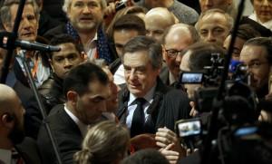 François Fillon au salon des Entrepreneurs de Paris, 1er janvier 2017. SIPA. AP22008398_000010