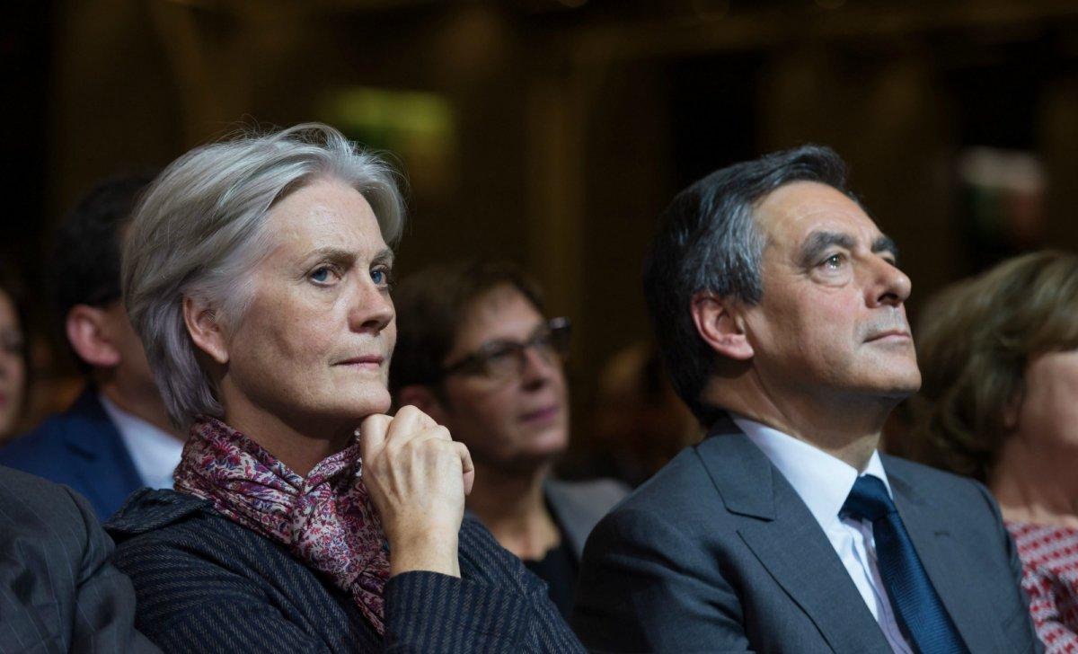François Fillon Affaire Pénélope Fillon emplois fictifs