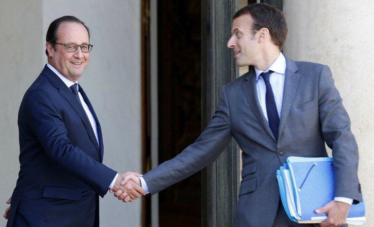 Macron, plan B de Hollande