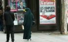 Une femme voilée à Paris, mai 2015. SIPA. 00713541_000001