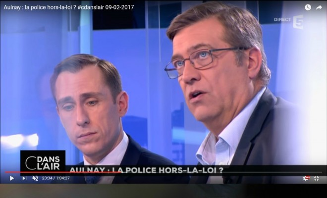 luc poignan theo police aulnay