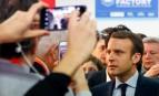 Emmanuel Macron au Salon des Entrepreneurs à Paris, février 2017. SIPA. AP22008715_000024