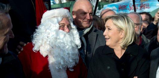Marine Le Pen Elections présidentielles Front National Reforme des retraites
