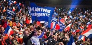 Marine Le Pen Front national élections présidentielles Mélenchon Fillon