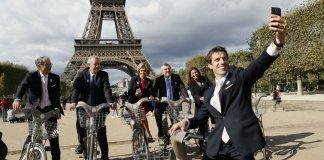 vélo transport en commun Paris bobo