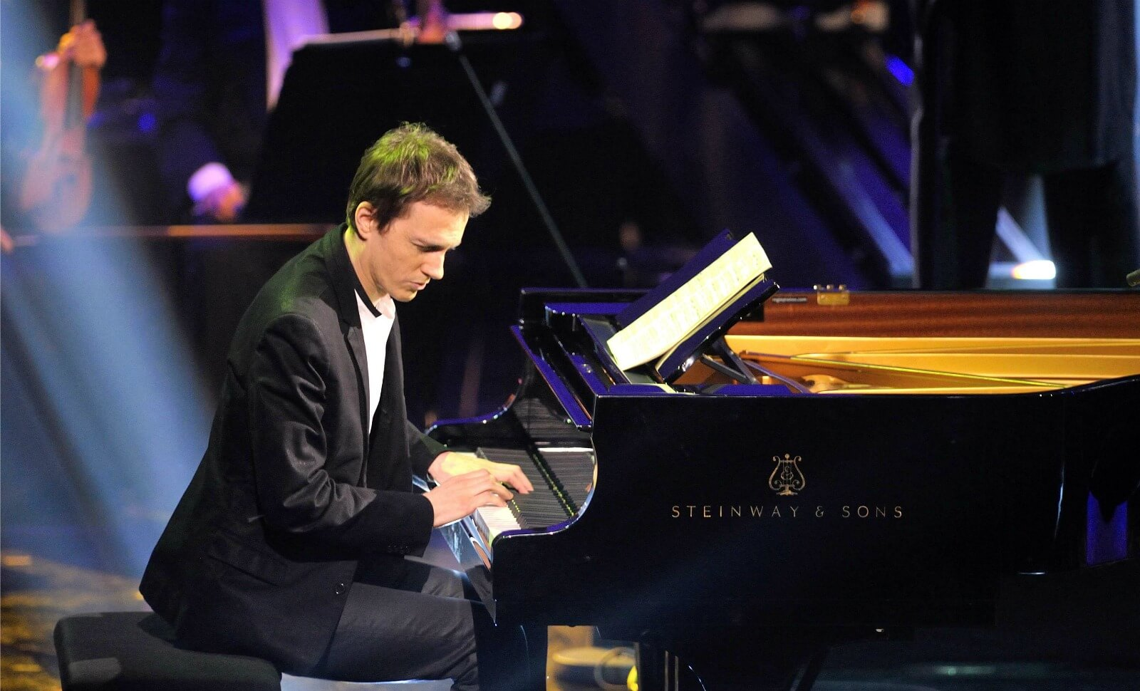 Alexandre Tharaud, en concert à Bercy.
