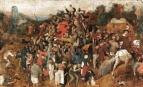 Peter Brueghel l'Ancien, Le Vin à la fête de la Saint Martin (ca. 1565-1568), Musée du Prado, Madrid