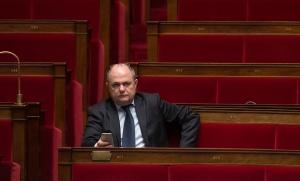 Bruno Le Roux a démissionné de son poste de ministre de l'Intérieur. Photo: janvier 2015. SIPA. 00703389_000026