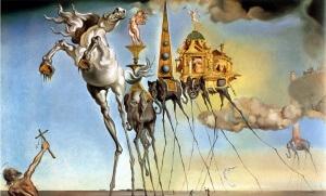 La Tentation de saint Antoine de Salvador Dali