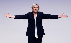 Marine Le Pen en Allemagne, janvier 2017. SIPA. AP22010708_000001