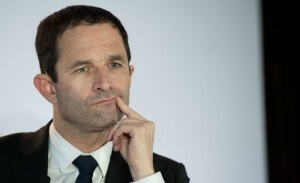 Benoît Hamon, candidat du Parti socialiste à l'élection présidentielle 2017, mars 2017. SIPA. 00799492_000008