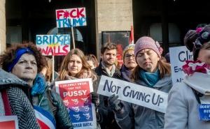 Manifestation féministe à Lyon, janvier 2017. SIPA. 00789773_000003