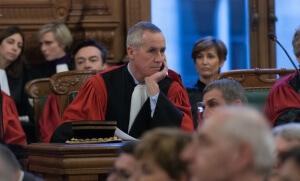 François Molins, procureur de la République, janvier 2017. SIPA. 00790092_000009