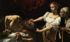 Judith et Holopherne, Le Caravage, 1599. Ce thème deviendra un des sujets favoris des artistes caravagesques et tout particulièrement du Valentin.