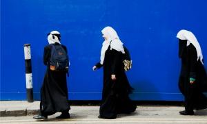 Tower Hamlets, Londres, 24 avril 2016. Plus de la moitié de la population de ce borough londonien est musulmane.