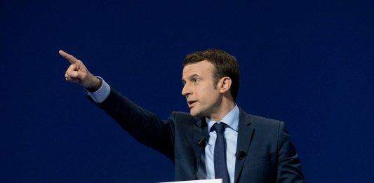 Emmanuel Macron en meeting à Dijon, mars 2017. SIPA. 00799424_000003