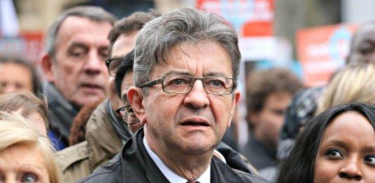 Jean-Luc Mélenchon, mars 2017. SIPA. 00798596_000009