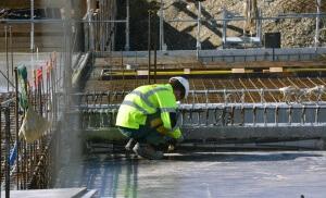 Un chantier en France, février 2017. SIPA. 00793124_000016