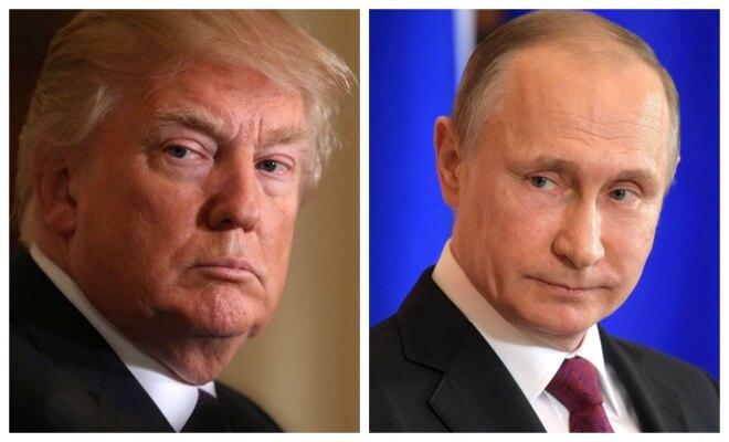 Donald trump poutine
