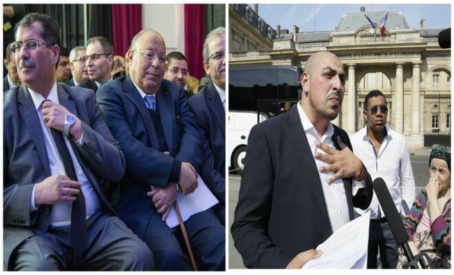 Anouar Kbibech, Dalil Boubakeur et Marwan Muhammad. Sipa. Numéro de reportage  : 00747755_000006 et AP21942980_000004.