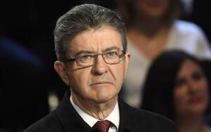 Jean-Luc Mélenchon lors du débat présidentiel à 11 candidats du 4 avril 2017. SIPA. AP22036293_000001