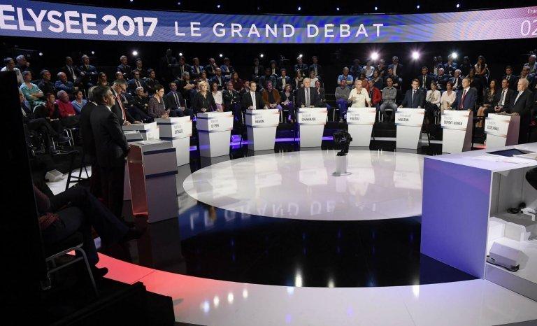 Présidentielle: la campagne réduite aux débats télévisés
