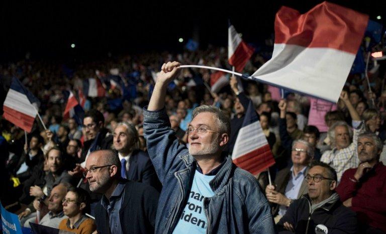 Je suis vieux et je vote Macron!