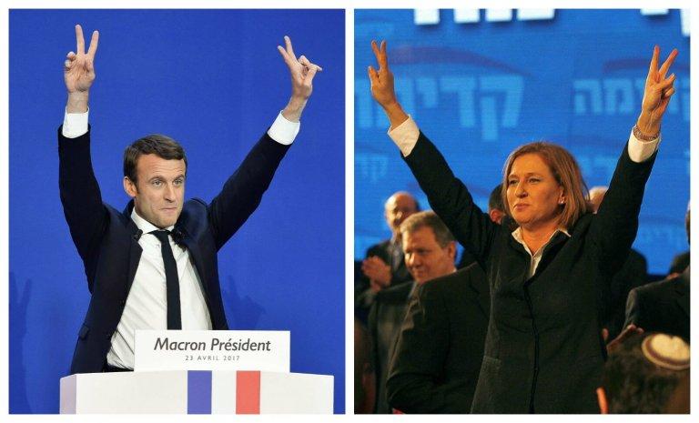 Emmanuel Macron et le précédent israélien