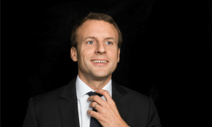 Emmanuel Macron. Photo: Hannah Assouline