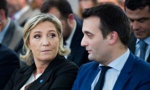 Marine Le Pen et Florian Philippot, janvier 2017. SIPA. 00787305_000017