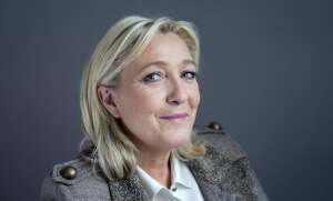 Marine Le Pen. Photo: Hannah Assouline