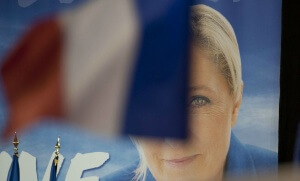 Meeting de Marine Le Pen à Perpignan, avril 2017. SIPA. 00802473_000003