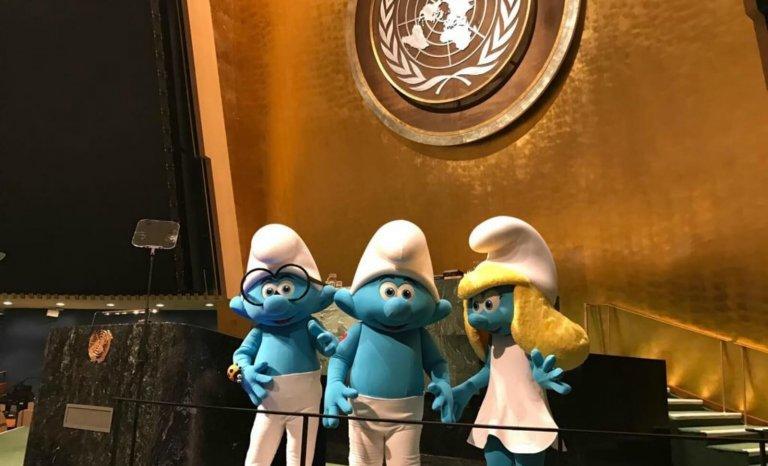 L'ONU, c'est Schtroumpfement bon!