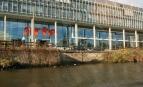 Le siège d'Arte à Strasbourg. Crédit photo : Gilles Targat/Photo12
