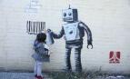 Graff de Banksy à New-York, octobre 2013. SIPA. REX40311925_000016