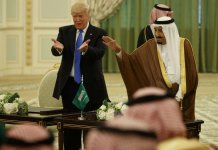 donald trump arabie saoudite iran