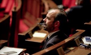 Edouard Philippe à l'Assemblée nationale, décembre 2015. SIPA. 00734054_000014
