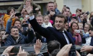 Emmanuel Macron est élu président de la République, 7 mai 2017. SIPA. AP22049578_000112