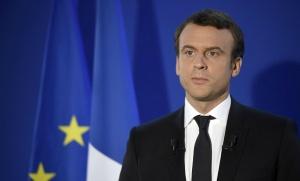Emmanuel Macron, le 7 mai 2017 à Paris. SIPA. AP22049578_000230