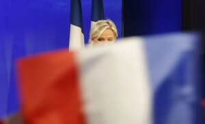 Marine Le Pen, Paris, 7 mai 2017. SIPA. AP22049727_000001