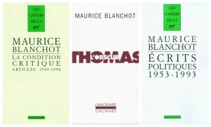 maurice blanchot thomas obscur politiques