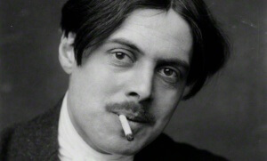 Portrait de Wyndham Lewis par George Charles Beresford, 1913
